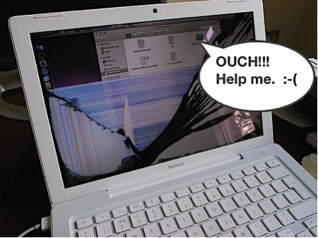 how to fix broken mac book laptops